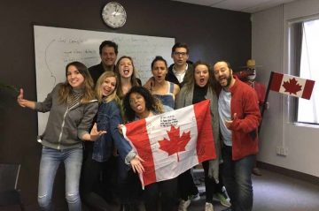 Cours Demi-pair au Canada