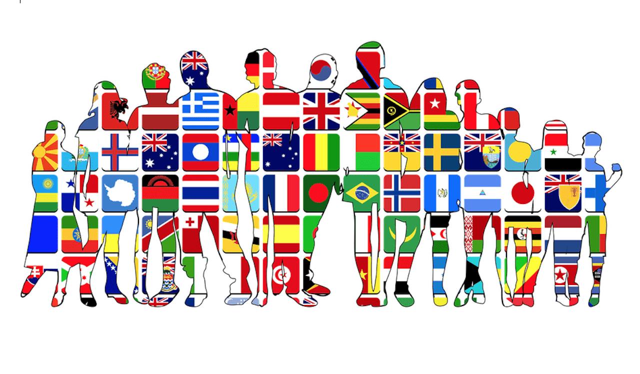 Les gens des diverses nationalités